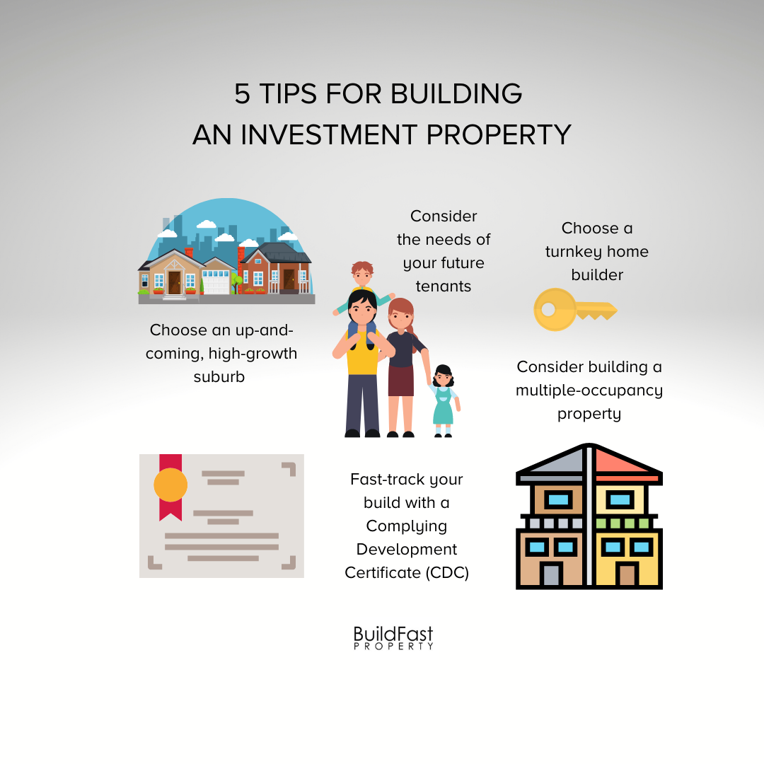 5 Tips For Building an Investment Property