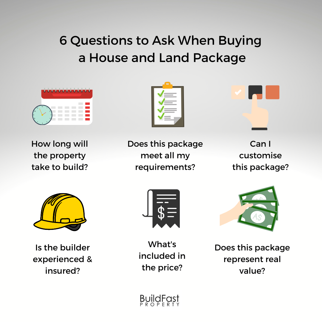 buying a house and land package
